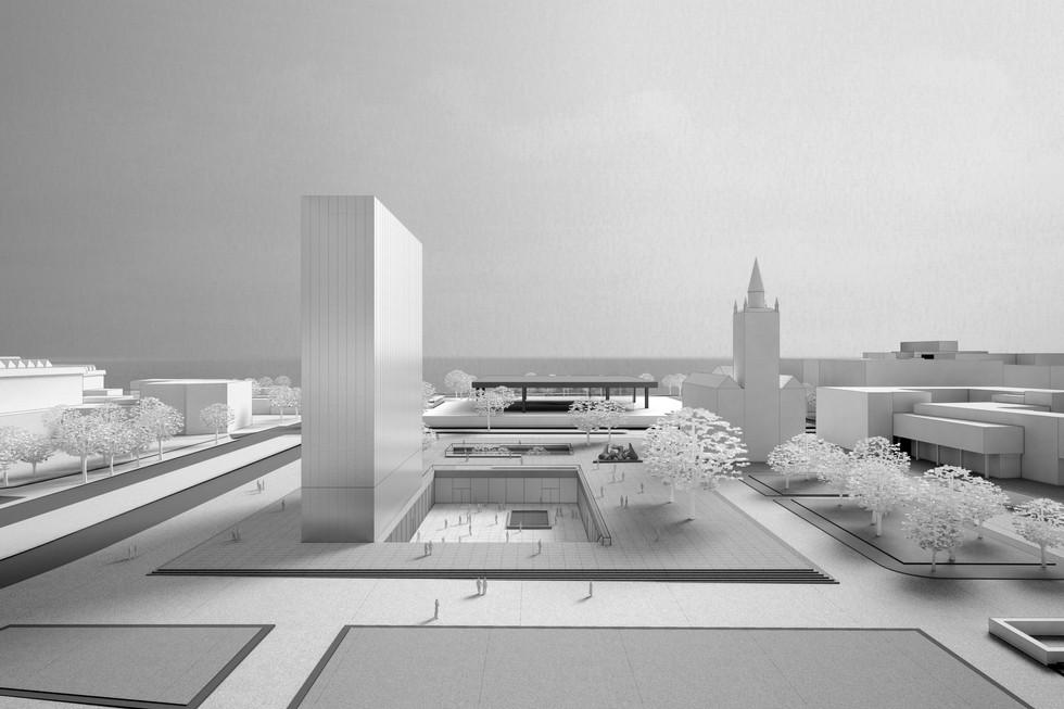 Wettbewerb Museum des 20. Jahrhunderts © Thomas Stadler