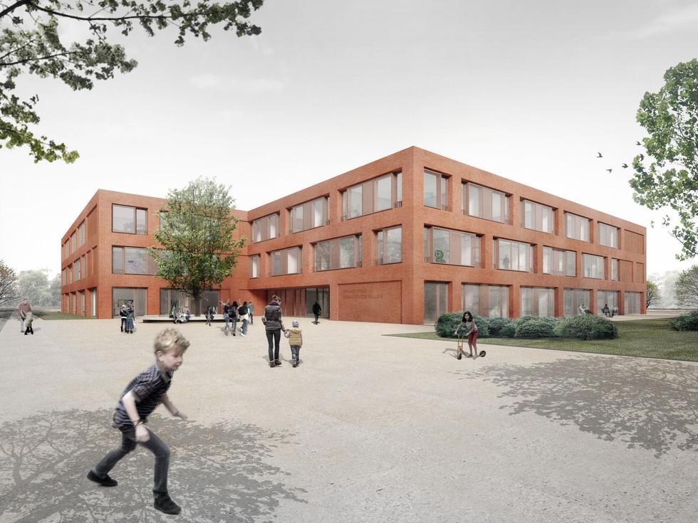 Wettbewerb Grundschule Bornstedter Feld, Potsdam
