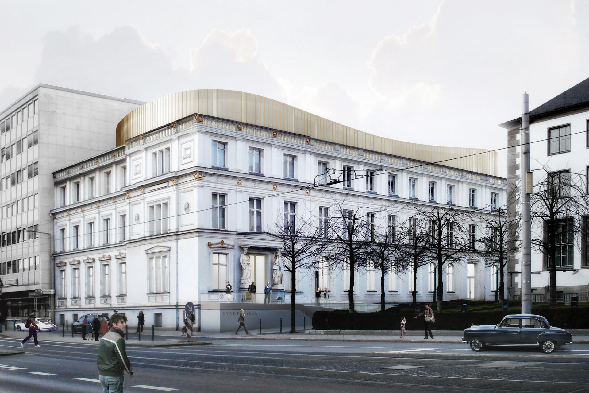 Erweiterung Stadtmuseum Kassel © Thomas Stadler