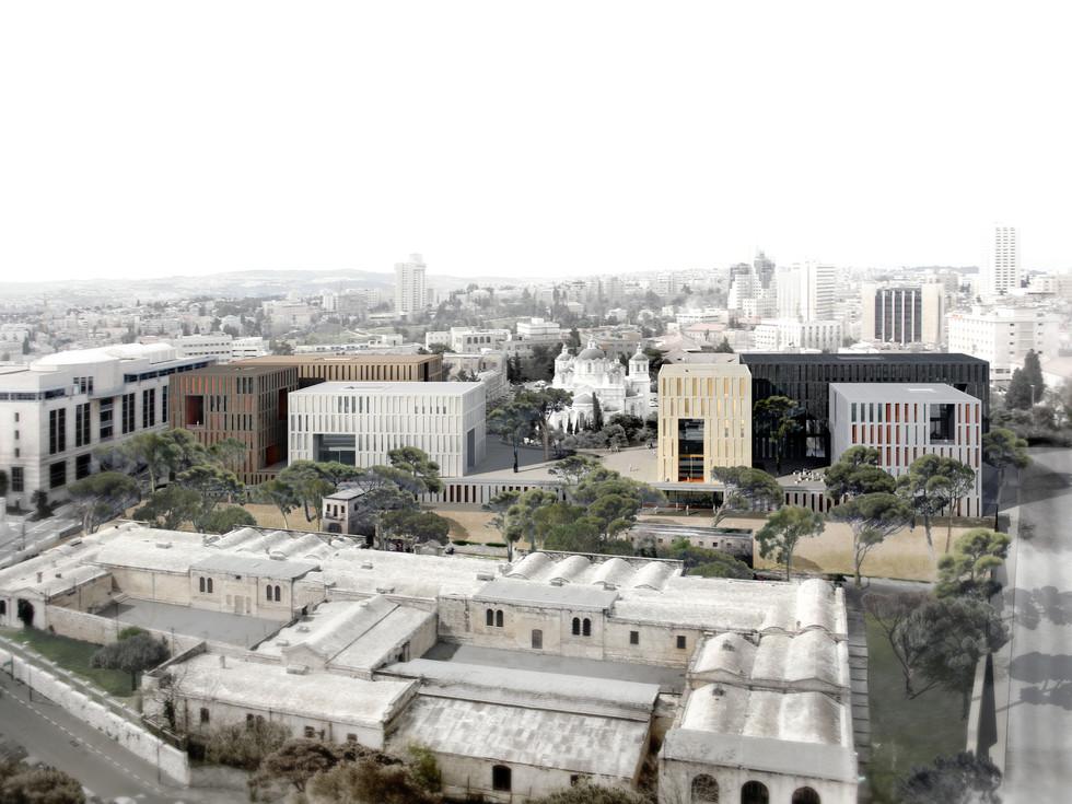 Wettbewerb Kunstakademie Bezalel, Jerusalem © Thomas Stadler