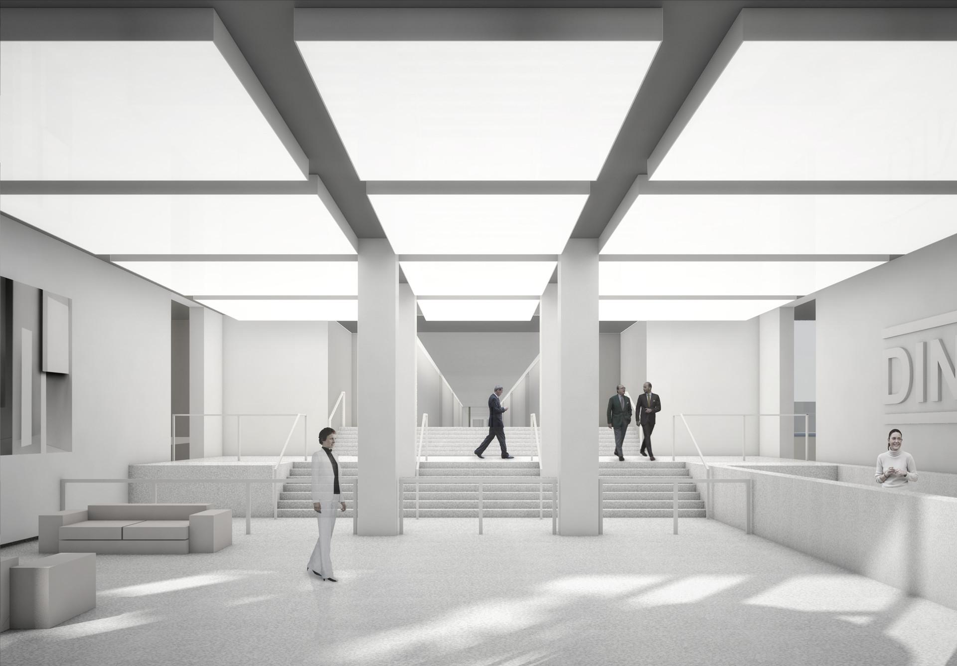 DIN - Gebäude Fassadenwettbewerb © Thomas Stadler