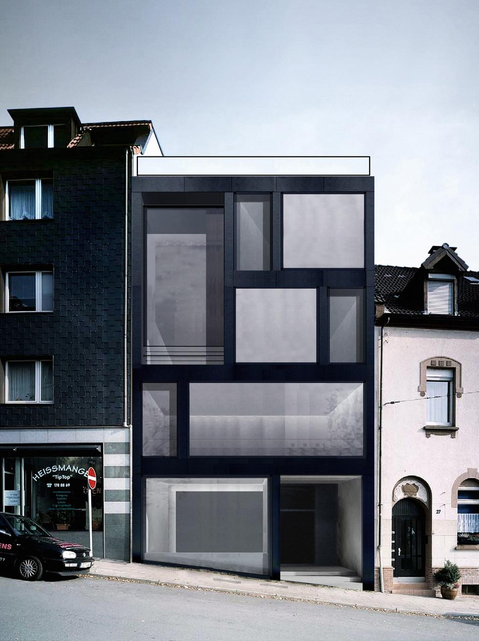 Stadthaus Studie