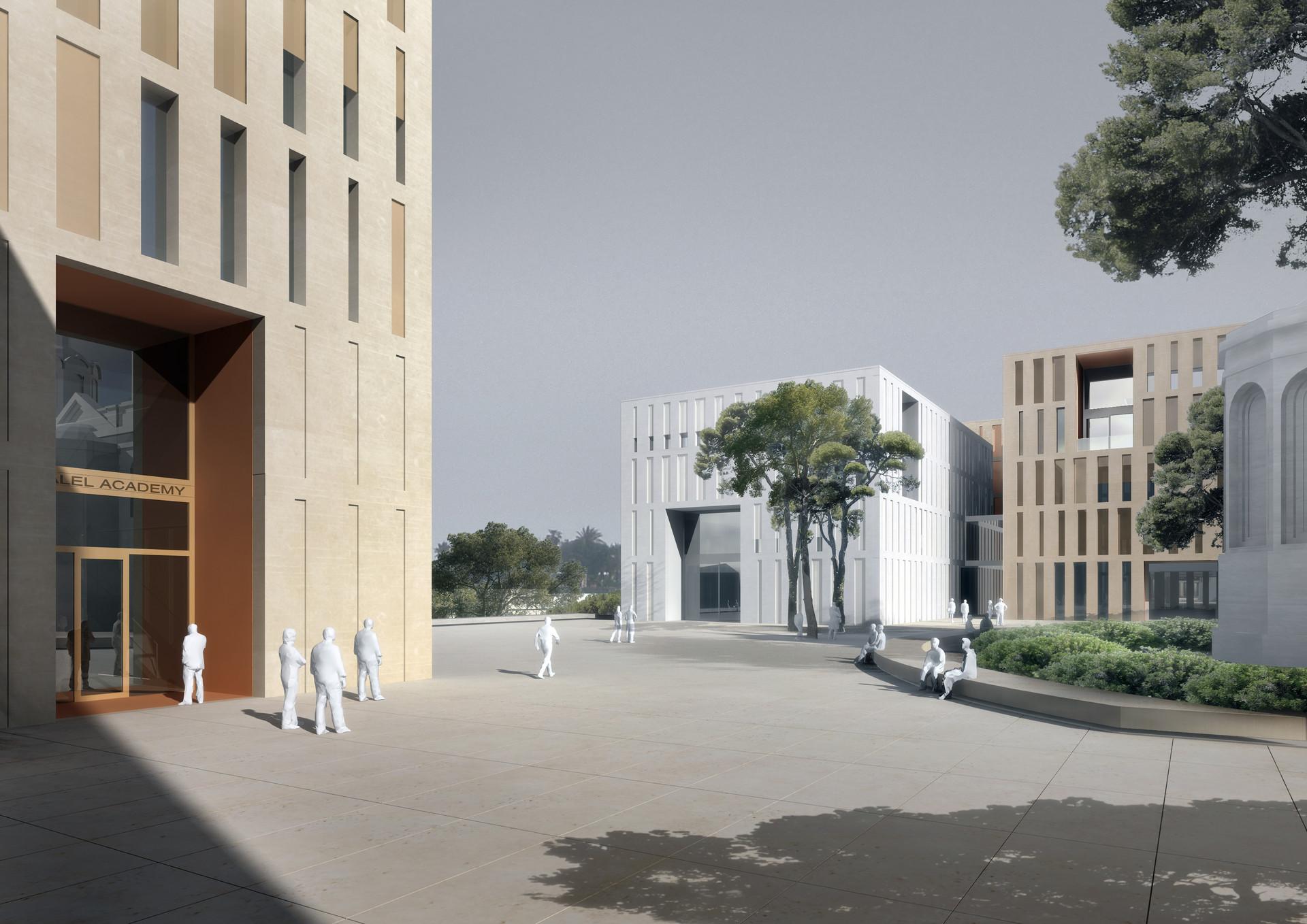Wettbewerb Kunstakademie Bezalel, Jerusalem