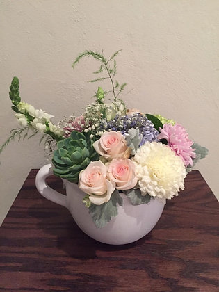 Tazón de flores