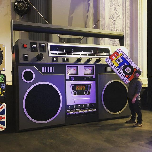 Who's ready to rock #boombox style!  #MF70sMixtape _montclairfilm #montclairnj _thewellmonttheater #