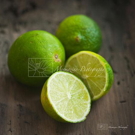 Food photography: Limes
