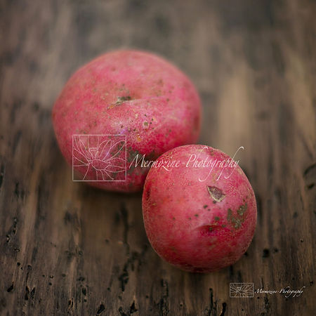 Food Photography: red potatoes