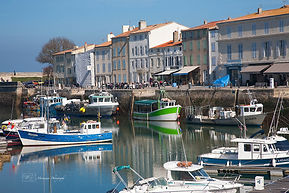 Photograph of the french atlantic island of Ré