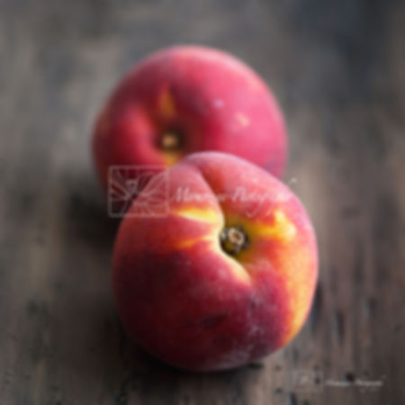 Food photography: Peaches