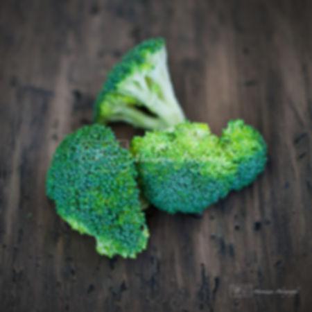 Food photography: broccoli.