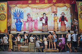 Photographs of Singapore: Chinatown (Mural)