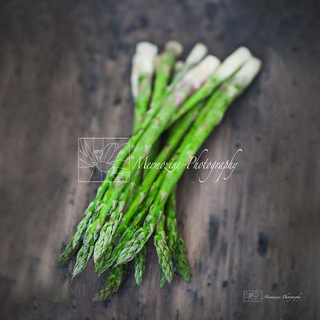 Food photography: Asparagus/