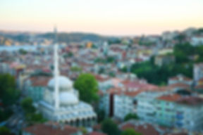 Photograph of the city of Istanbul , Turkey.