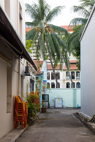 Photographs of Singapore: Chinatown (Back Alley)