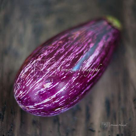 Food photography: eggplant.