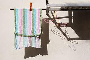 Photographs of Singapore: Chinatown (laundry)