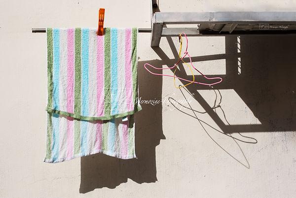 Photographs of Singapore: Chinatown -Laundry