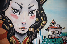 Photographs of Singapore: Chinatown (Wall Portrait)