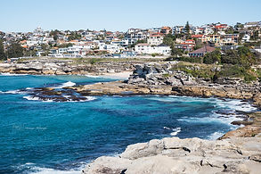 Coastline walk, Bondi Beach, Australia.