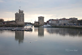 Photograph of the City of La Rochelle, France.