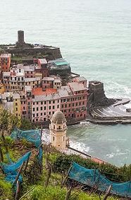 Corniglia, Cinque Terre, Italy.