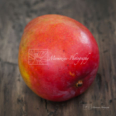 Food photography: mango.