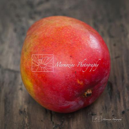 Food photography: mango.
