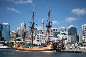 Darling Habour Sail Boat, Sydney, Australia