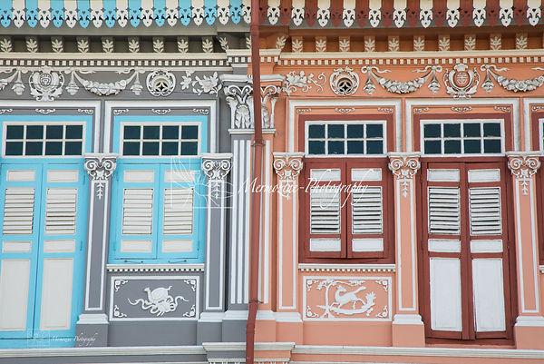 Peranakan houses, Joo Chiat, Singapore
