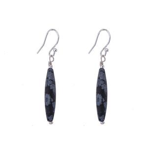 Olivine gemstone earrings - single