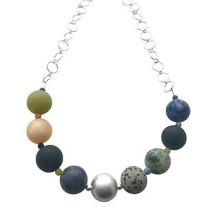 Callisto necklace on handmade chain