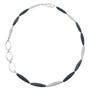 Linked Olivine necklace