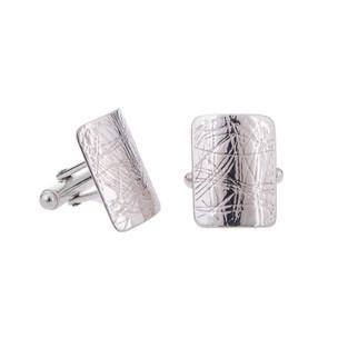 Swaged cufflinks
