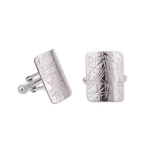 Swaged cufflinks