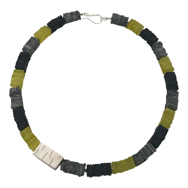 Square Slices necklace