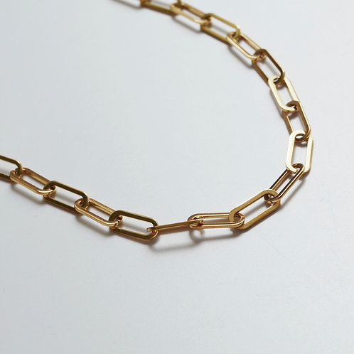 The Thick Paperclip Chain Necklace