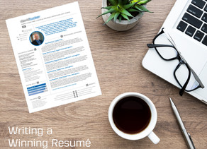 Tips for Writing a Winning Resumé
