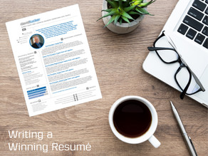 Tips for Writing a Winning Resumé