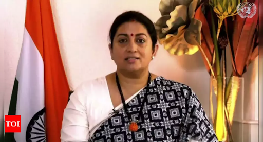 India ready to work with international partners for a Post-Covid World-Smriti Irani