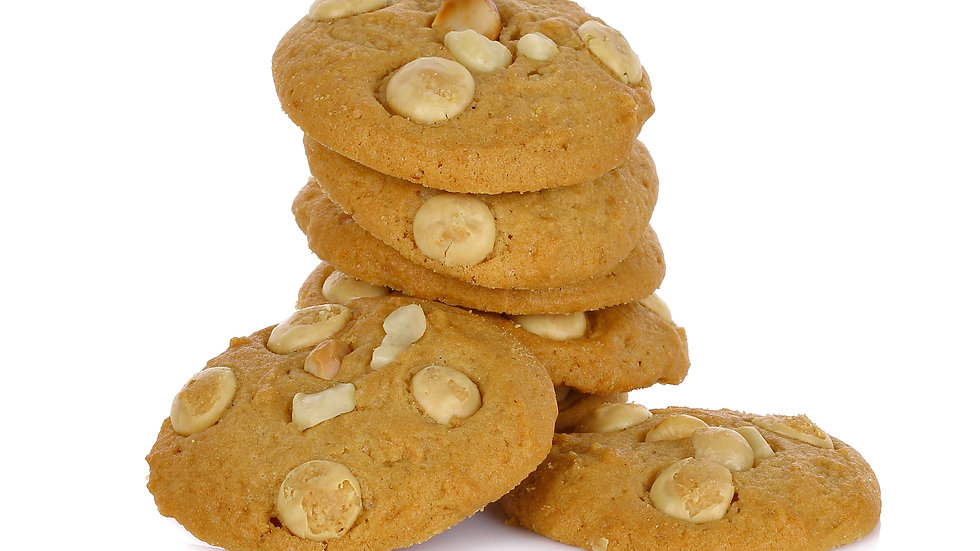 White Chocolate Macadamia Cookies By The Dozen