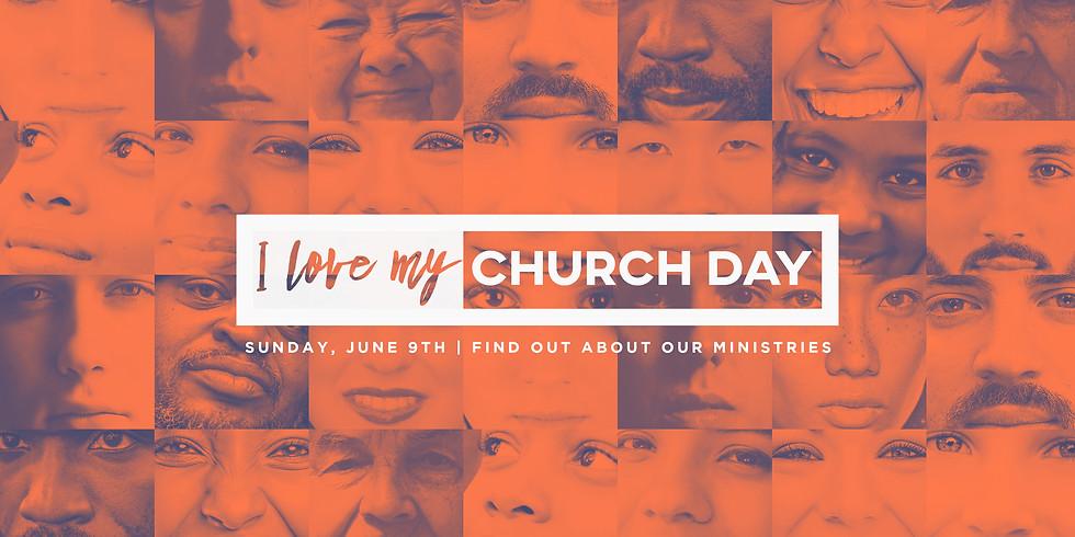 I Love My Church Day