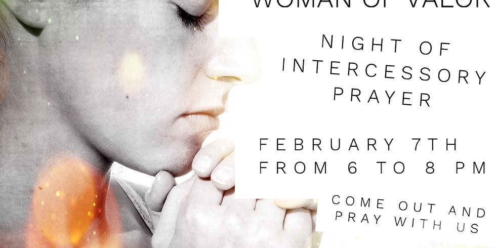 Women of Valor: Night of Intercessory Prayer