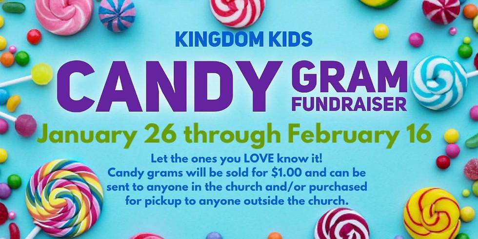 Kingdom Kids Candy Gram Fundraiser