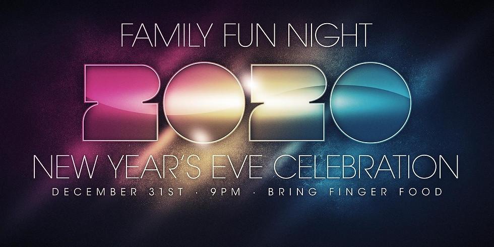 NYE Family Fun Night