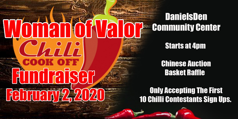 Women of Valor Chili Cook Off Fundraiser