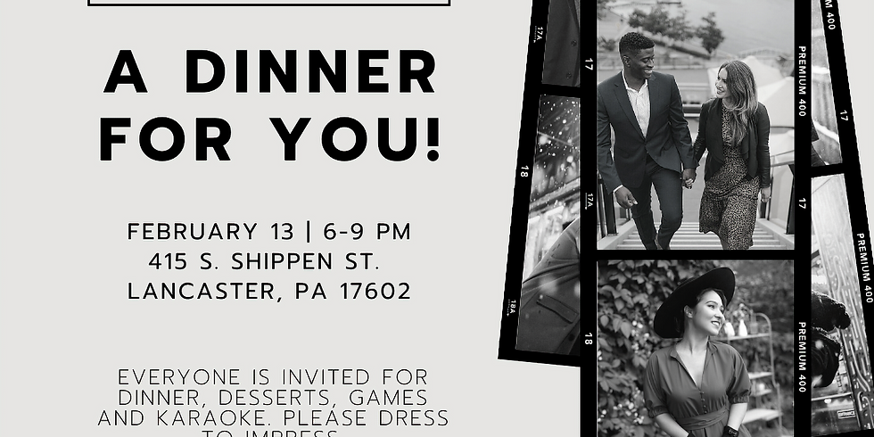 Intentional Young Adults V-Day Dinner