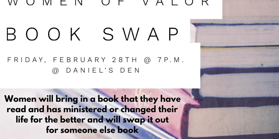 Women of Valor Book Swap