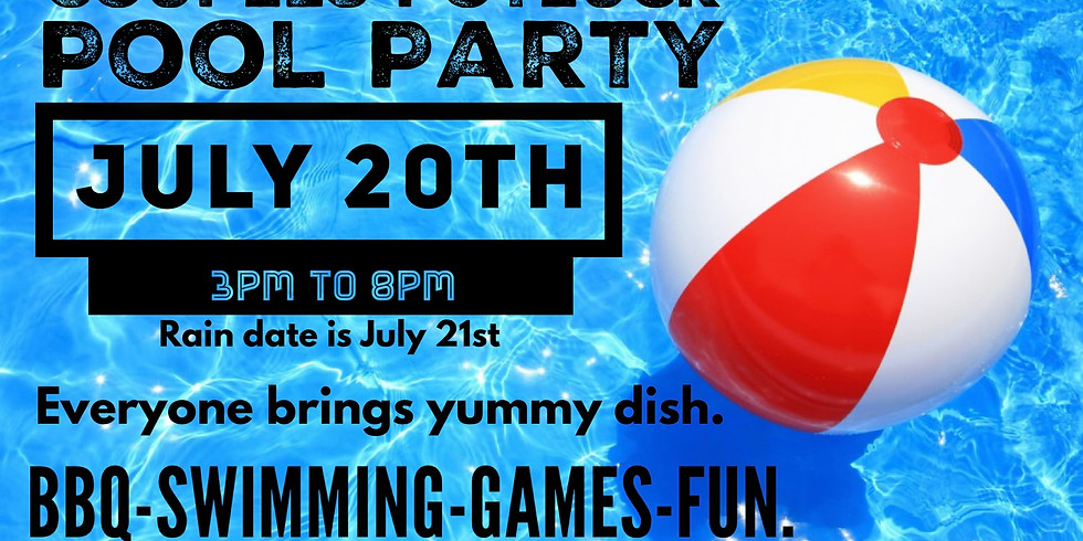 Couples Potluck Pool Party