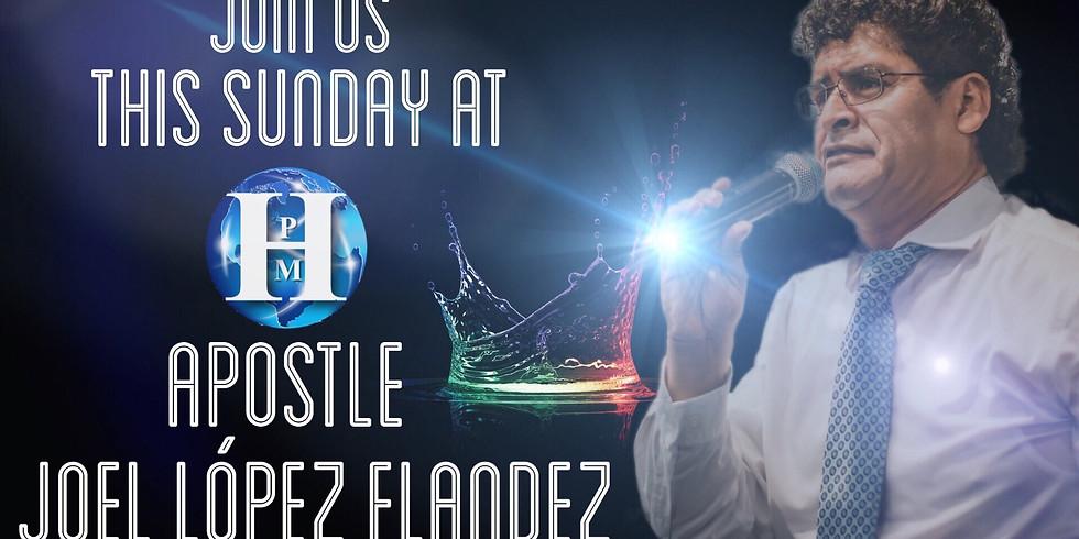 Apostle Joel López Flandez
