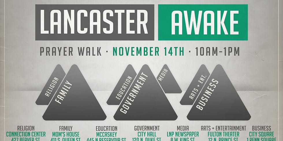 Lancaster Awake Prayer Walk